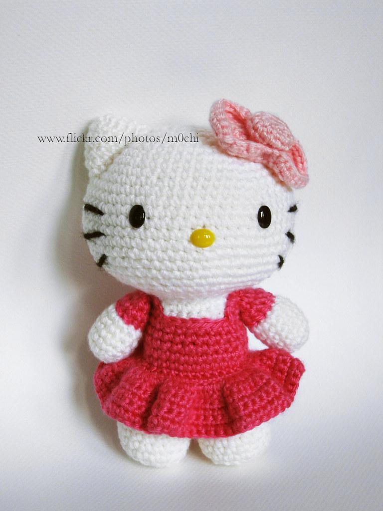 Crochet Hello Kitty free pattern amigurumi | Amigurumi Space | 1024x768