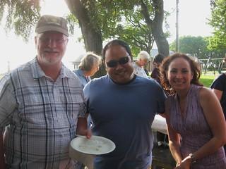Chris V, Brandon and Ingrid