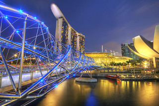Marina Bay Sands Singapore HDR travel photo | by Jimmy McIntyre - Editor HDR One Magazine