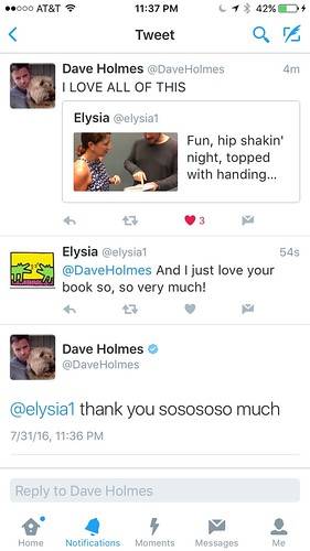 my night was made, AGAIN! | by elysia1