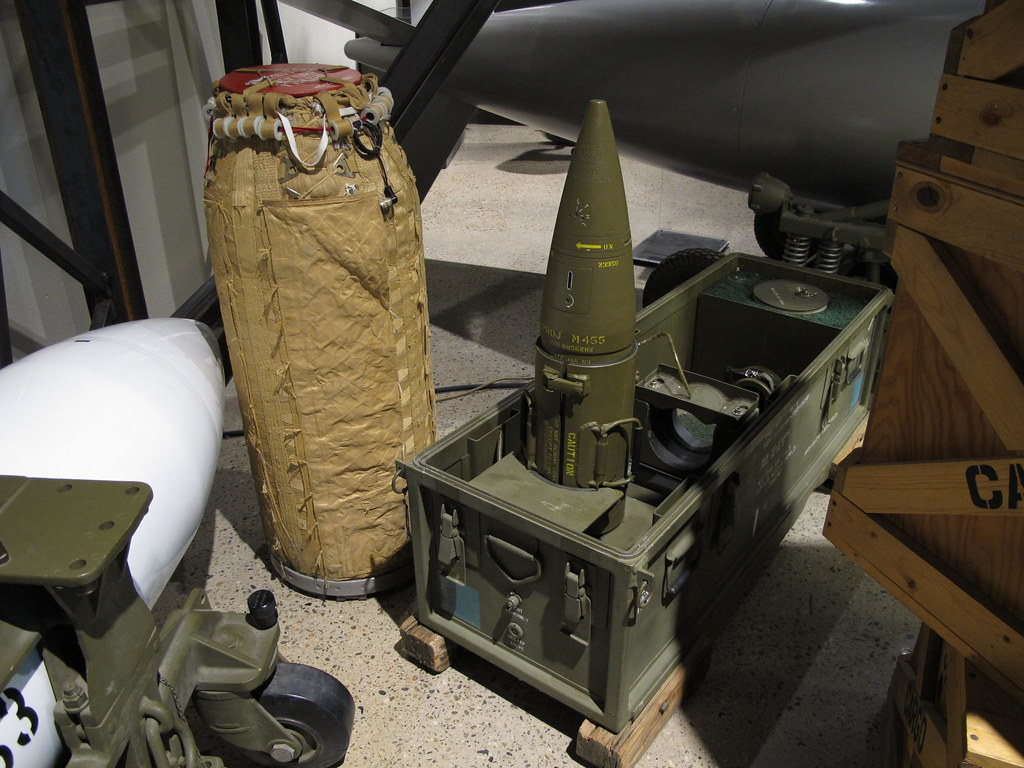 Ic Free Shipping >> M454 (M455) Artillery Fired Atomic Projectile (AFAP) | Flickr