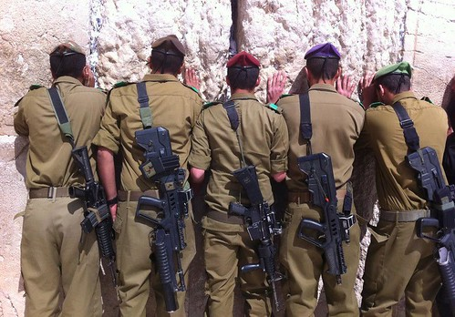 IDF Soldiers at the Western Wall | by Israel Defense Forces