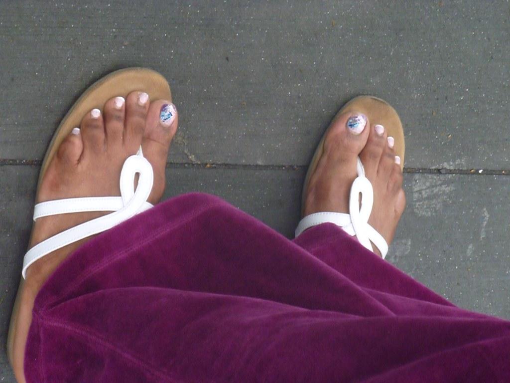 Ebony Mature Feet