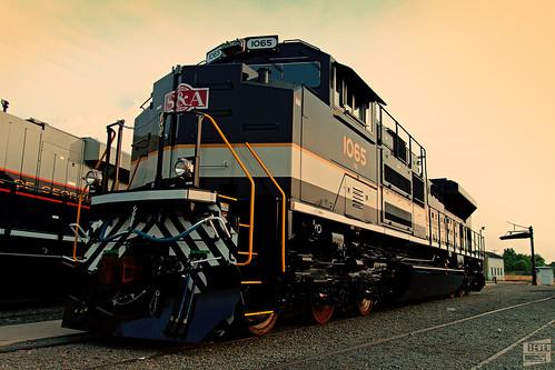 railroad atlanta sunset heritage golden ns trains savannah railfan