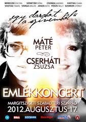 2012. május 24. 2:42 - Máté Péter, Cserháti Zsuzsa emlékkoncert