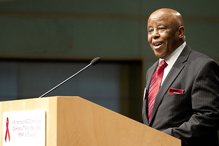 H.E. Festus Mogae delivers opening remarks | by World Bank Photo Collection
