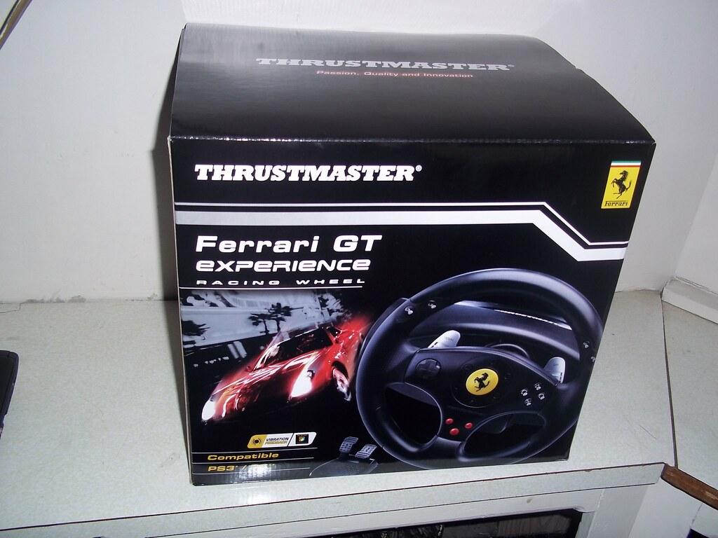 Thrustmaster Ferrari Gt Experience Racing Wheel Eugene Faust2012 Flickr