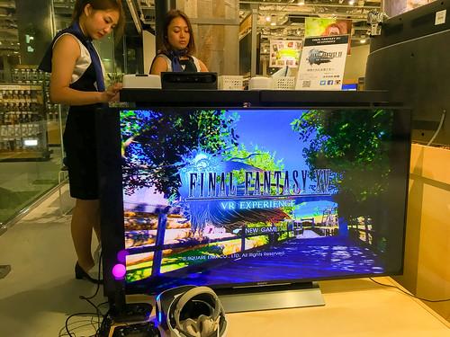 FINAL FANTASY XV VR EXPERIENCE | by odysseygate