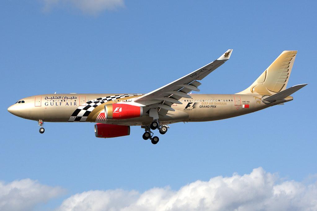 Gulf Air | Airbus A330-200 | A9C-KB | Formula 1 livery | L