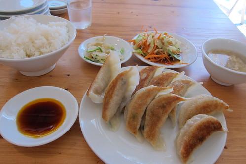餃子の翠葉の餃子定食 | by Hisashi Photos