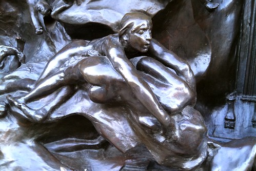 Rodin's Gates of Hell detail