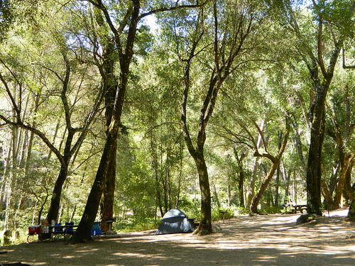 Nacimiento Creek Campground, Big Sur