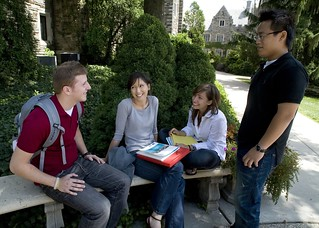 Hanging at SJU | by SJU Undergraduate Admissions