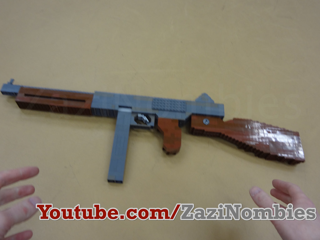 Lego Thompson M1A1 WW2 | The American Thompson M1A1 featured… | Flickr