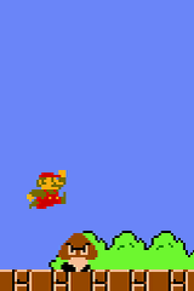 ... Iphone Wallpaper Super Mario Bros | By Rg337s