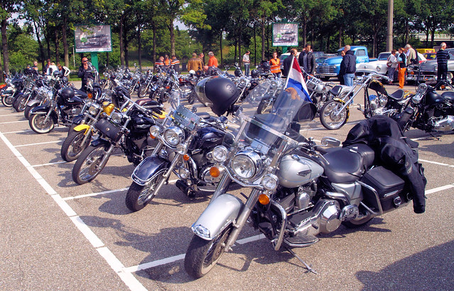 All American Day, the Bikes