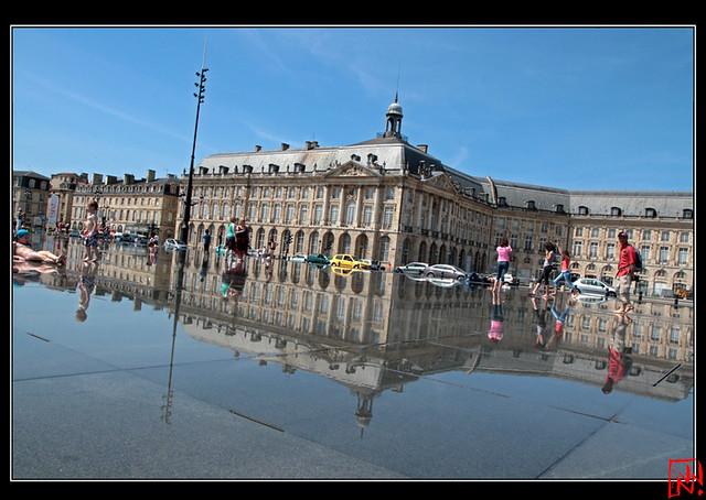 Bordeaux 5/8 - Le miroir d'eau