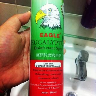 Weirdest air freshener ever! Smells like ubat | Maurina Rara | Flickr
