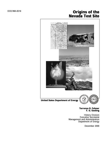 Origins of the Nevada Test Site