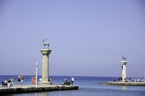 Rhodes-Statue Marking Colossus Feet | by BruceHH