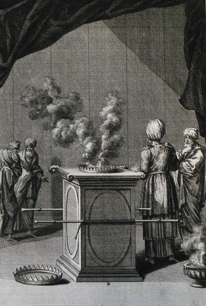Phillip Medhurst Bible 439  The altar of incense  Exodus c