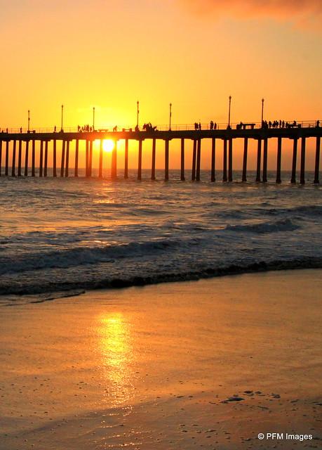 Sunset Huntington Beach Pier