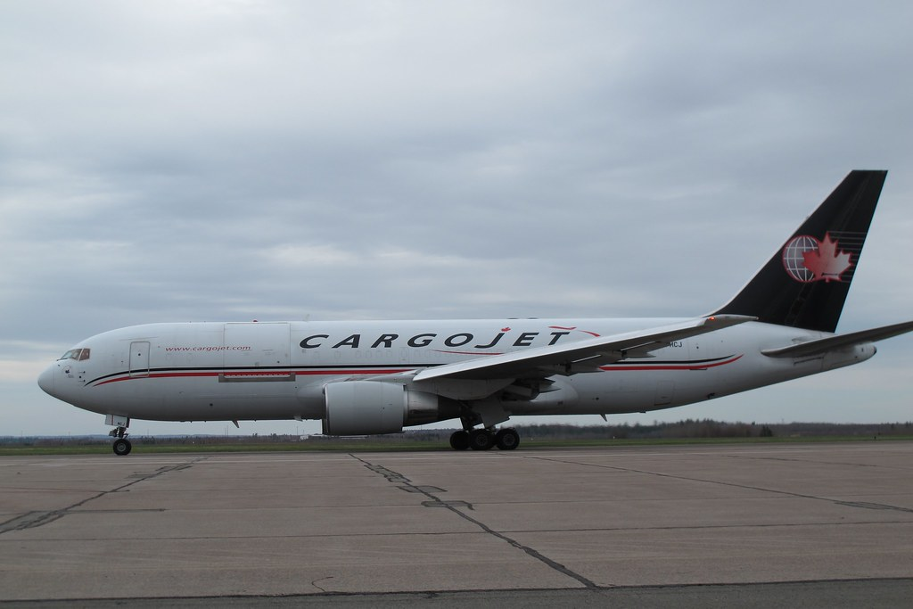 First Cargojet Scheduled Flight Moncton Canada To Cologn