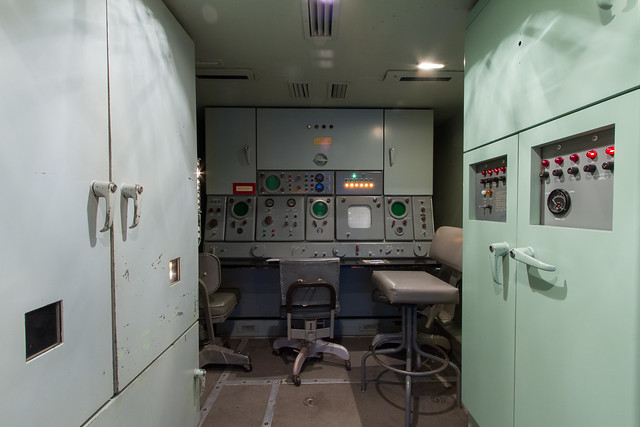 SF-88 Nike Hercules Missile Site [05]: Tracking Station
