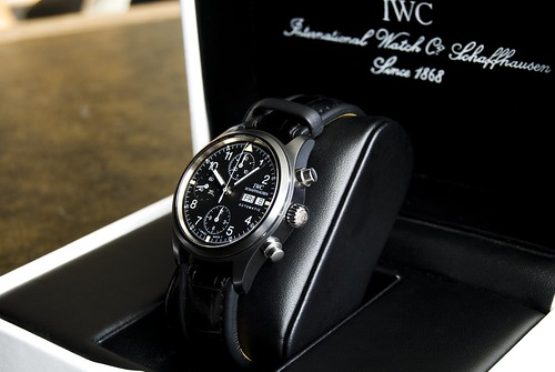 IWC 3705 Ceramic Flieger Chronograph | by MinuteDreamer