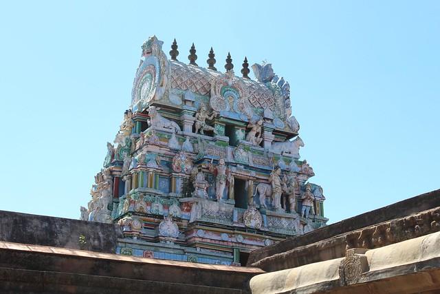 Rajagopuram at the 2nd Level