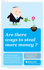 Are there ways to steal money we haven't thought of yet? - Barclays are working on it.