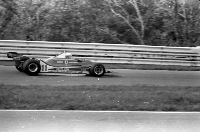 Jody Scheckter at Watkins Glen