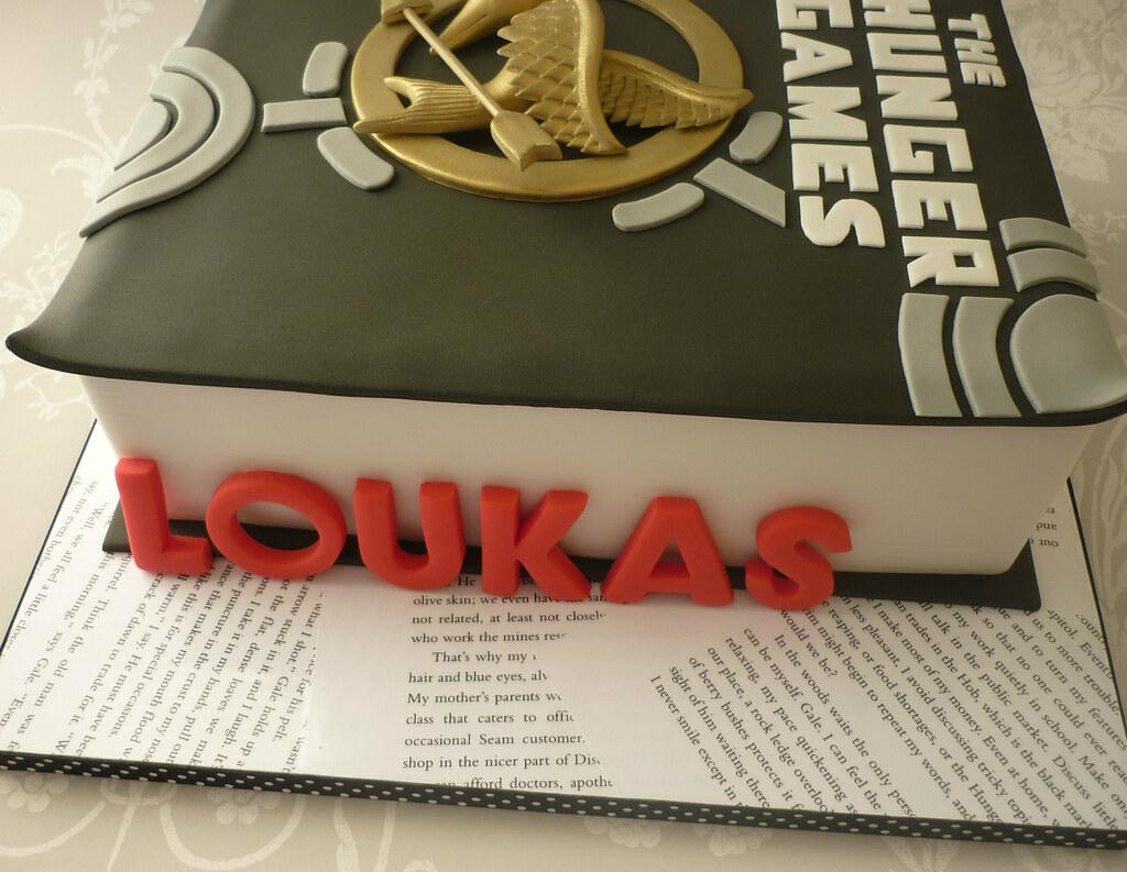Terrific Hunger Games Birthday Cake I Made This Cake For My Boyfrie Flickr Funny Birthday Cards Online Elaedamsfinfo