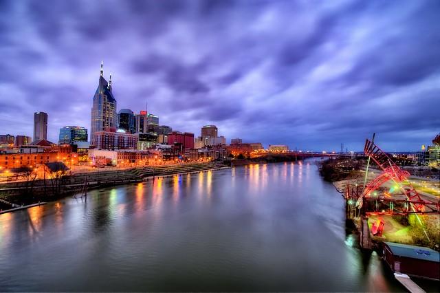 Over Nashville