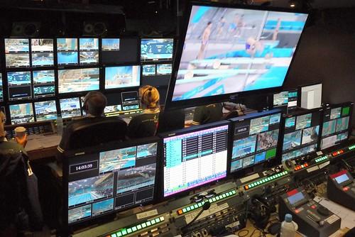 3D control room - London 2012 Olympics