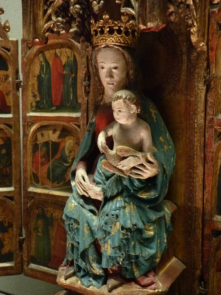 GERMANY (Allemagne),15th-c. - Scènes de la Vie de la Vierge, l'Enfance du Christ (Louvre) - Detail 21