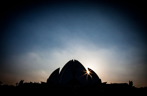 The Lotus Temple -  Bahá'í House of Worship - Delhi, India