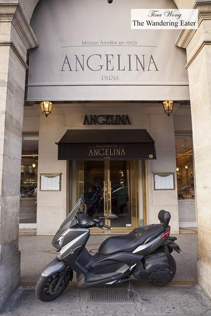 Exterior of Angelina