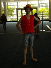 Luffy D Monkey from One Piece