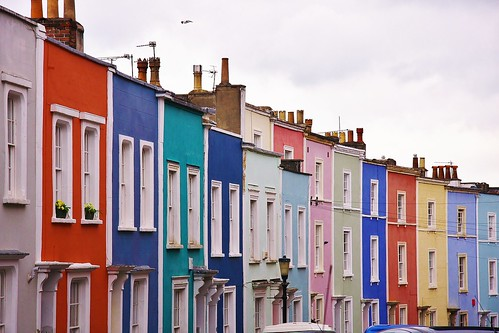 Coloured Houses | by ChodHound