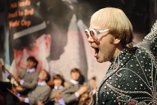 Elton John and the Beatles at Madame Tussaud's New York | by InSapphoWeTrust