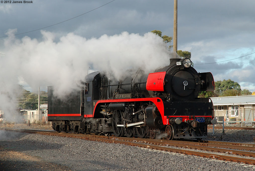 R707 at Seymour by James Brook