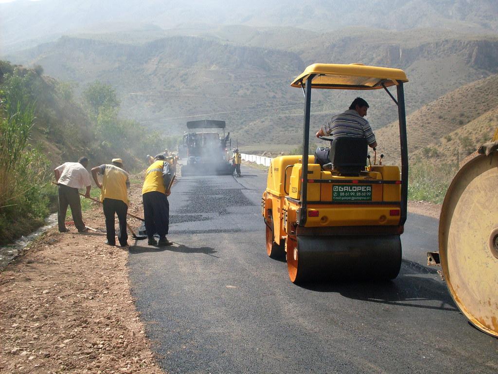 Rural road project in Armenia | The rural roads project crea