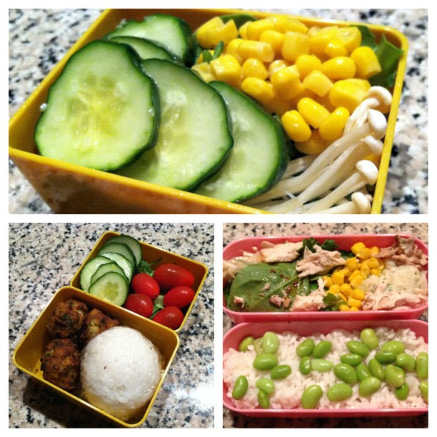 #kvpinmybelly : More #bento good times! #picstitch #fb