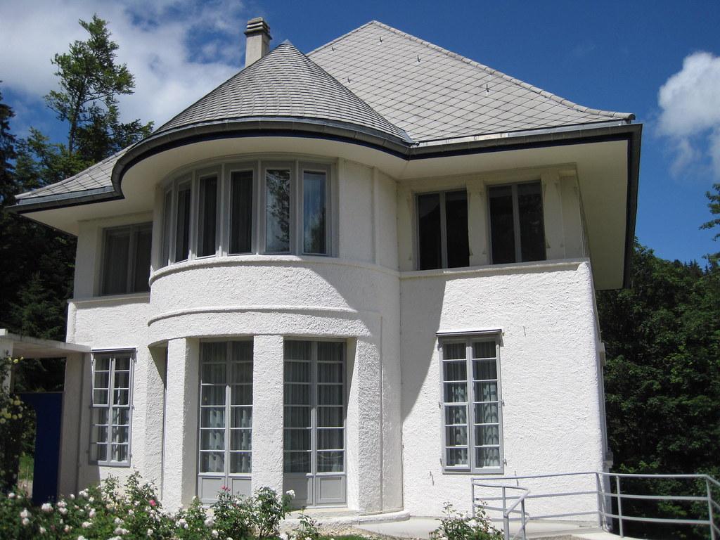 Maison blanche de le corbusier by lachan