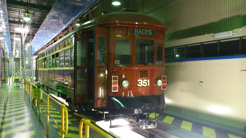 Adelaide H-Type Tram at Glengowrie depot by Ryan Smith