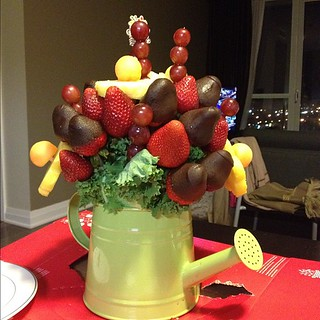 Yum! An anniversary edible arrangement from @rue17 | by ijokhio