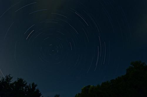 trees sky silhouette night forest dark stars star virginia woods nikon shadows iso400 wideangle nightsky f8 startrails blacksburg superwideangle northstar ultrawideangle newrivervalley 14mm d7000