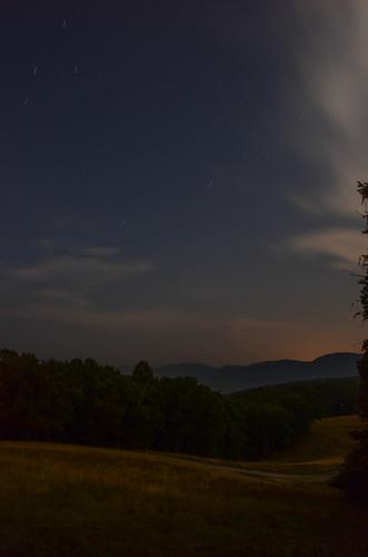 nikon d7000 18200mm vr blacksburg virginia va southwestvirginia newrivervalley night photography startrails stars pretty enchanting dark darkness outdoor sky cloud