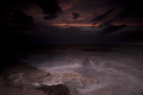 sunset lake storm beach colors waves antelopeisland tamron utahstatepark nikond90